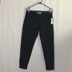 Mavi Jeans Co. Black Sateen Five Pocket Pants